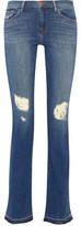 J Brand Brya Distressed Mid-Rise Bootcut Jeans
