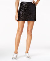 chelsea sky Sequined Mini Skirt, Only at Macy's