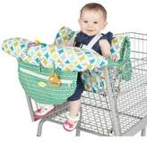 Nuby NubyTM Shopping Cart and High Chair Cover in Green/White