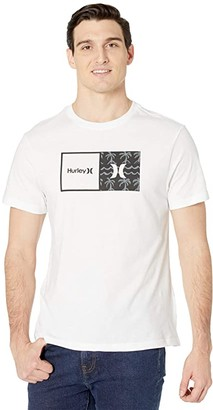 Hurley Natural HD Short Sleeve Graphic T-Shirt (Black) Men's Clothing