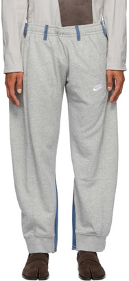 Bless Grey and Blue Vintage Jogging Jeans Lounge Pants