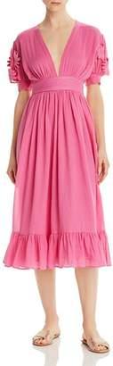 Carolina K. Greta Midi Dress