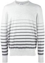 Brunello Cucinelli striped sweatshirt - men - Cotton - 50