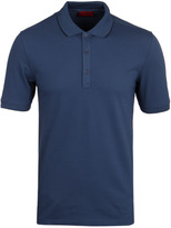 Hugo Delorian Blue Short Sleeve Polo Shirt