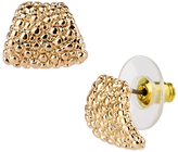 Saachi Goldtone Stone Stud Earrings