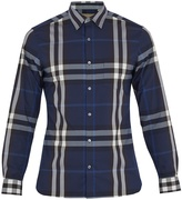Burberry Nelson single-cuff cotton-blend shirt