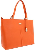 Cole Haan Village E/W Tech Tote (Corporate Orange) - Bags and Luggage