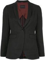 TOMORROWLAND fitted waist blazer