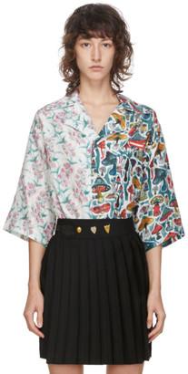 Charles Jeffrey Loverboy Multicolor Alf N Alf Hawaiian Short Sleeve Shirt