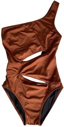 Solid & Striped Orange Swimwear for Women