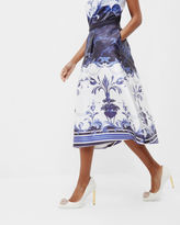 Ted Baker Persian Blue full skirt