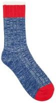Forever 21 FOREVER 21+ Men Marled Knit Crew Socks