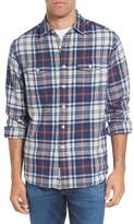 Grayers Men's Bisney Modern Fit Texture Flannel Sport Shirt