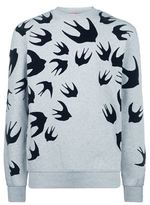 Mcq Alexander Mcqueen Swallow Print Sweater