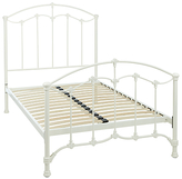 John Lewis Daisy Bed Frame, Cream, Small Double