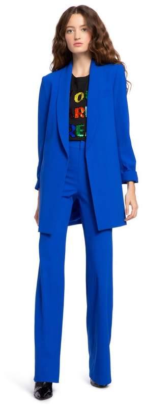 Alice + Olivia Jace Shawl Collar Oversized Blazer