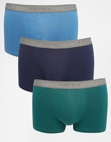 Esprit 3 Pack Trunks - Green