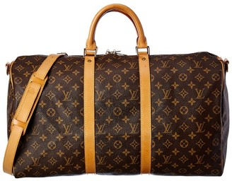 Louis Vuitton Monogram Canvas Keepall 45 Bandouliere