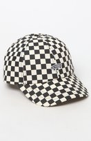 Vans Checkerboard Black & White Strapback Dad Hat