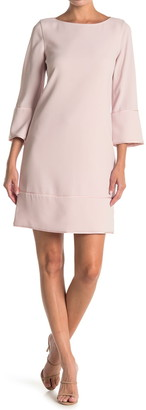 Elie Tahari Esmarella Long Sleeve Shift Dress