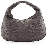 Bottega Veneta Veneta Medium Sac Hobo Bag, Gray