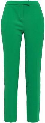 BA&SH Steady Textured-crepe Slim-leg Pants