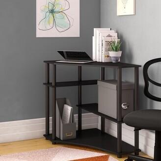 Symple Stuff Ballou Corner Credenza Desk Symple Stuff