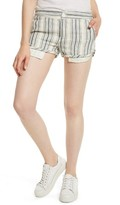 Free People Women's Night Moves Stripe Shorts