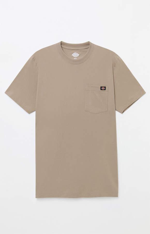 Dickies Heavyweight Pocket Tan T-Shirt