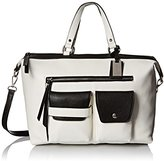 Nine West Pop Pocket Satchel Top Handle Bag