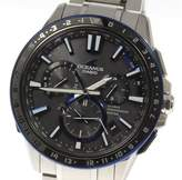 Casio Oceanus OCW-G1200-1AJF Titanium / Ceramic 44mm Mens Watch