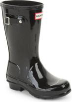 Hunter Kids gloss wellington boots 7-10 years