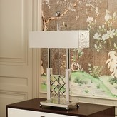 The Well Appointed House Global Views Carter Desk Lamp in Nickel with Shade