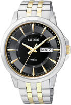 Citizen Men's Two-Tone Stainless Steel Bracelet 41mm BF2018-52E