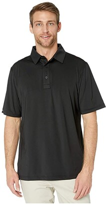 Straight Down Olympic Polo (Black) Men's Clothing