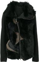 Emporio Armani asymmetric zip jacket