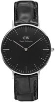 Daniel Wellington Women's 36mm Leather Band Steel Case Quartz Watch Dw00100147