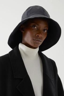 Cos Waxed Cotton Rain Hat
