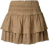 Etoile Isabel Marant tiered Kamelie mini skirt - women - Cotton/Viscose - 36