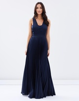 Regal Beauty Drape Gown