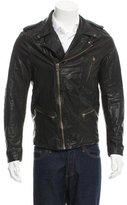 Scotch & Soda Leather Biker Jacket