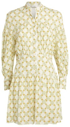 Sandro Paris Floral Print Mini Dress