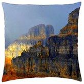 "iRocket - ROCKY MOUNTAINS - Throw Pillow Cover (20"" x 20"", 50cm x 50cm)"
