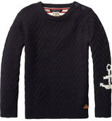 Scotch & Soda Button Detailed Pullover