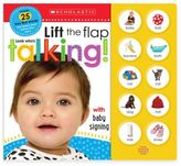 """Scholastic Lift the Flap: Look Who's Talking!"""" Board Book"""