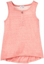 Splendid Textured Solid Tank (Toddler/Kid) - Coral-14