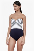 French Connection Bandeau Halter Neck Swimsuit