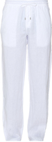 Vilebrequin Straight-leg linen trousers
