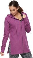 Tek Gear Women's Simple Full-Zip Fleece Hoodie