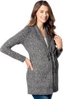 Motherhood Drawstring Shawl Maternity Sweater